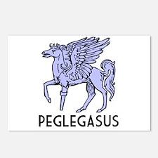 Peglegasus Postcards (Package of 8)