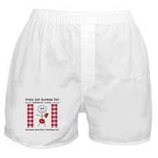 Cute Steak Boxer Shorts
