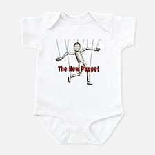 Bobby Jindal, new puppet Infant Bodysuit