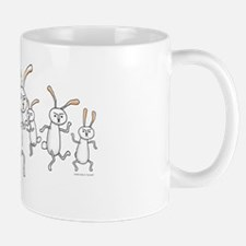 Dancing Rabbits Mug