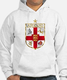 England Gold Shield Soccer Hoodie