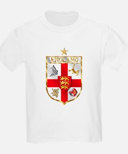 England Gold Shield Soccer T-Shirt