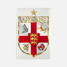 England Football Shield Rectangle Magnet