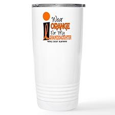 I Wear Orange For My Granddaughter 9 KC Travel Mug