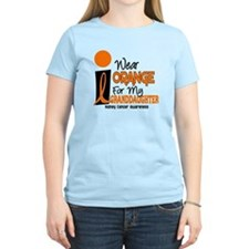 I Wear Orange For My Granddaughter 9 KC T-Shirt
