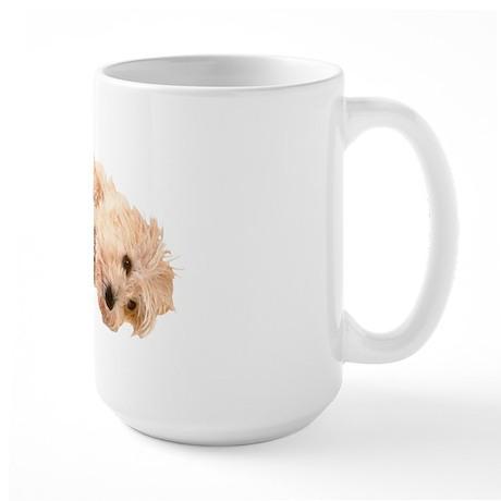 Cairn morning Large Mug