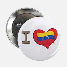 "I heart Venezuela 2.25"" Button"
