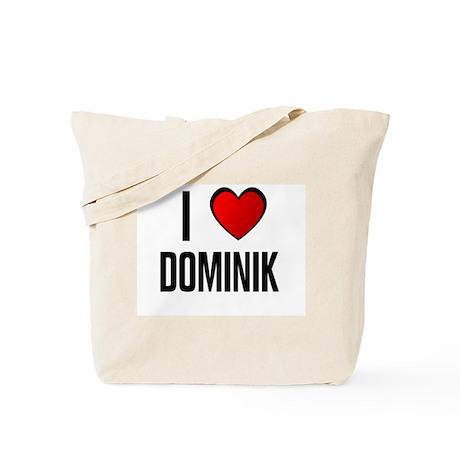 I LOVE DOMINIK Tote Bag