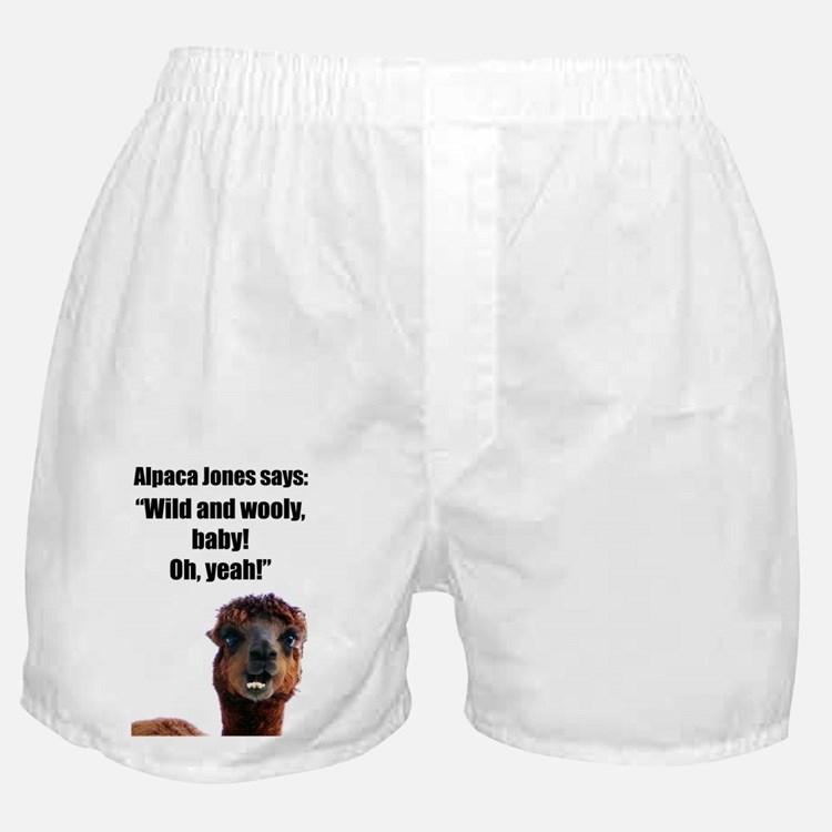 """""""Wild and Wooly"""" Boxer Shorts"""