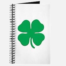 Classic 4 Leaf Clover - Journal