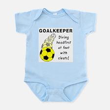 Soccer Goalkeeper Infant Bodysuit