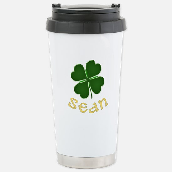 Sean Irish Stainless Steel Travel Mug