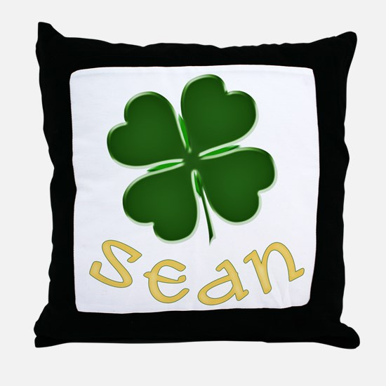 Sean Irish Throw Pillow