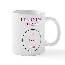 IPA - Hit Head Here Mug