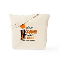 I Wear Orange Because I Care 9 KC Tote Bag