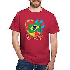 Brazillian Heart T-Shirt