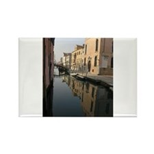 reflections of venice Rectangle Magnet (10 pack)