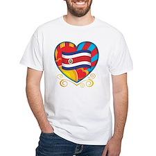 Costa Rican Heart Shirt