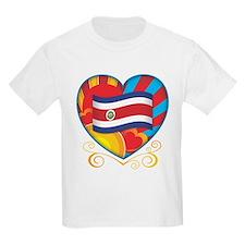 Costa Rican Heart T-Shirt