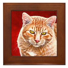 Wildstar the Cat Framed Tile