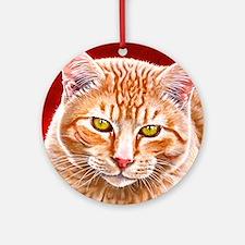 Wildstar the Cat Ornament (Round)