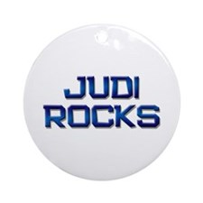 judi rocks Ornament (Round)