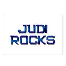 judi rocks Postcards (Package of 8)