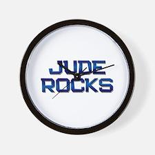jude rocks Wall Clock