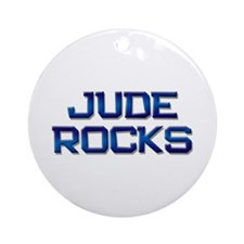 jude rocks Ornament (Round)