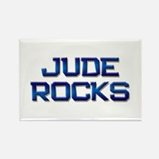 jude rocks Rectangle Magnet
