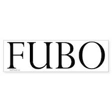 FUBO Bumper Bumper Sticker