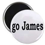 "go James 2.25"" Magnet (100 pack)"