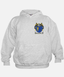 Maloney Coat of Arms (front/back) Hoodie