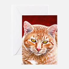 Wildstar the Cat Greeting Card