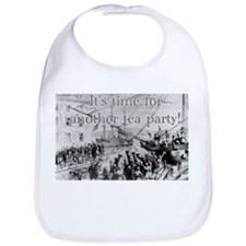 Time For Another Tea Party Bib