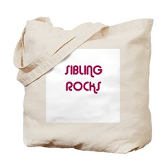 SIBLING ROCKS Tote Bag
