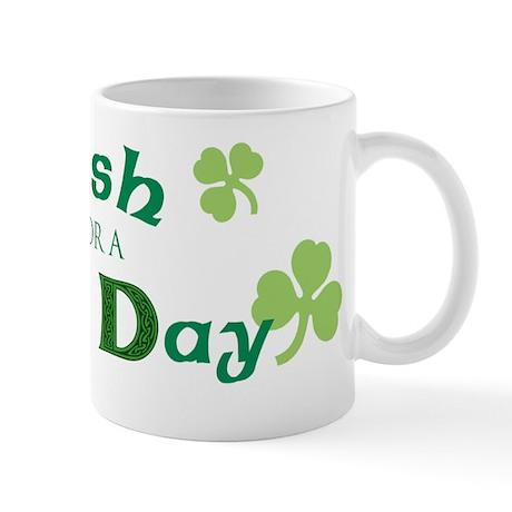St. Patrick Pug Mug