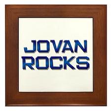 jovan rocks Framed Tile