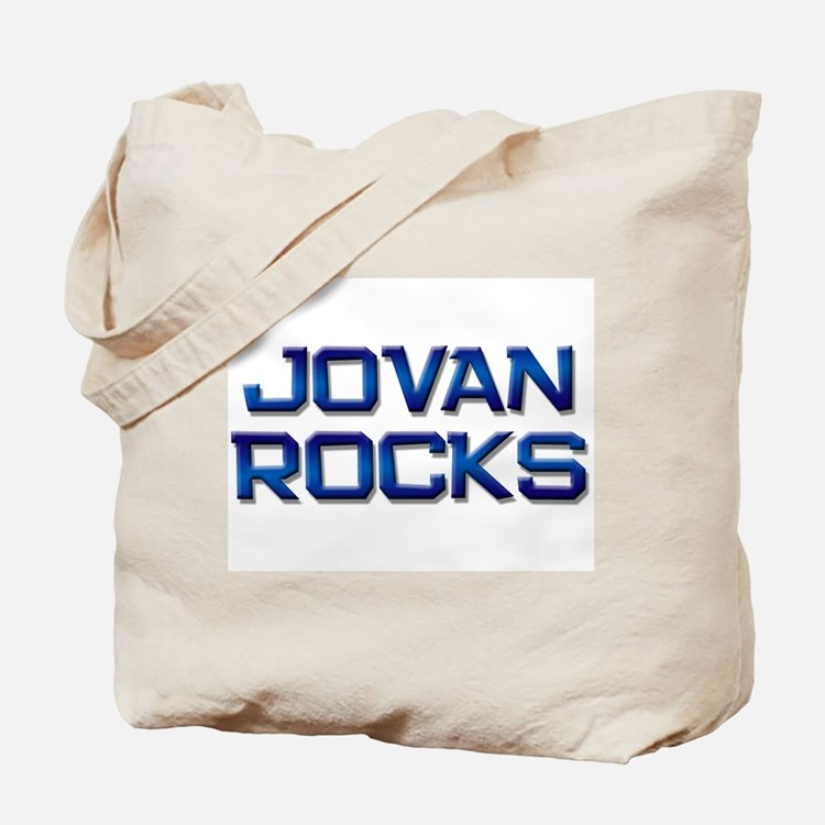 jovan rocks Tote Bag