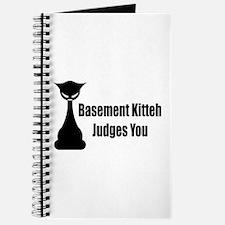 Basement Kitteh Judges You Journal