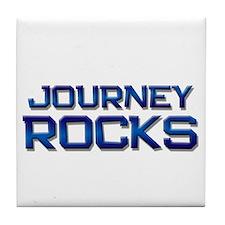 journey rocks Tile Coaster