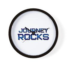 journey rocks Wall Clock