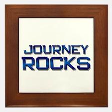 journey rocks Framed Tile