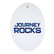 journey rocks Oval Ornament