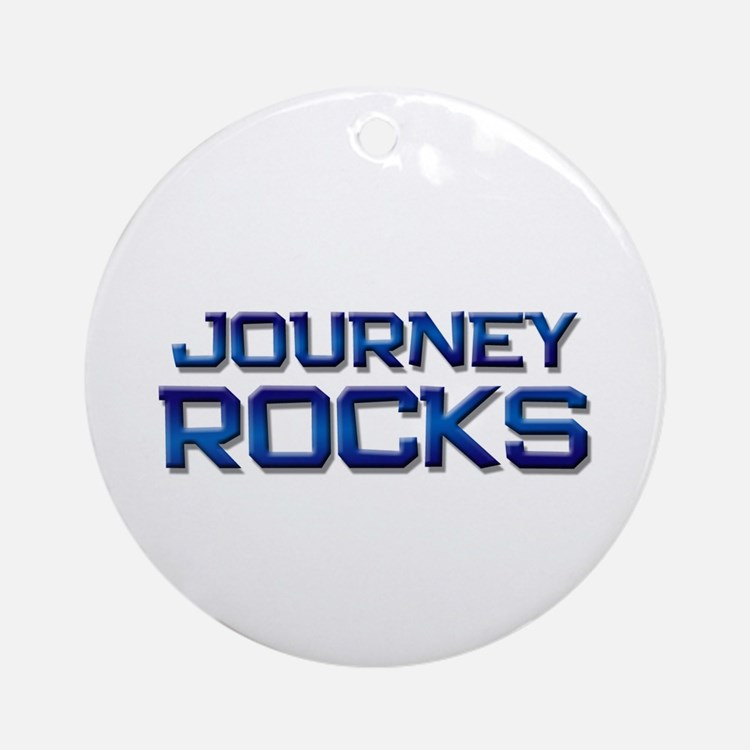 journey rocks Ornament (Round)