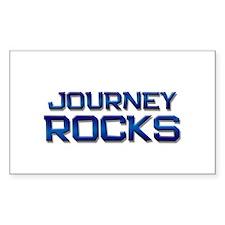 journey rocks Rectangle Decal