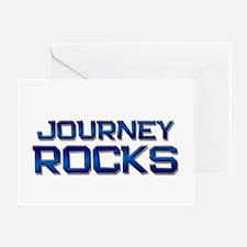 journey rocks Greeting Card