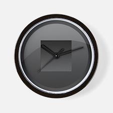 Stop Button Wall Clock