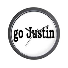 go Justin Wall Clock