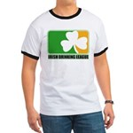 Irish Drinking League Ringer T